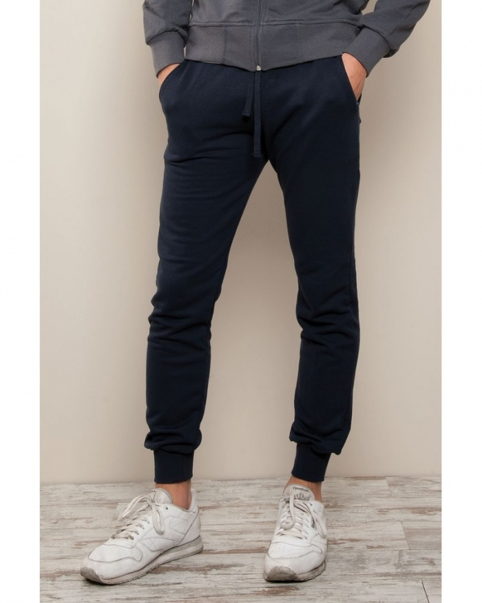 IT311 Stile Sport - pantalone fit in felpa french terry