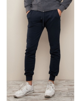 Stile Sport - pantalone fit in felpa french terry