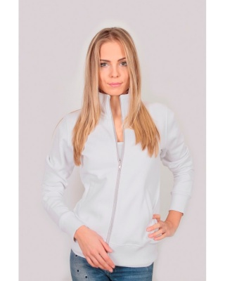 IT437 Stile donna - jacket in felpa zip lunga
