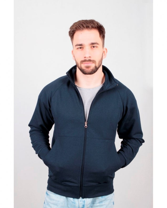 IT470 Stile base - felpa jacket zip lunga
