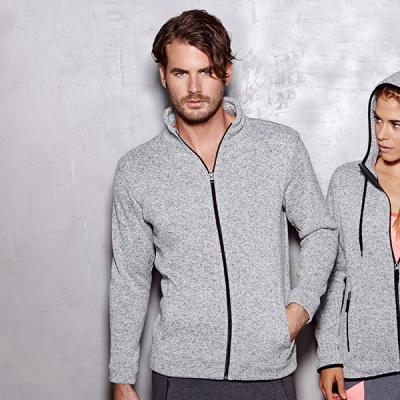 ST5850 - Active Knit Fleece Pile Jacket