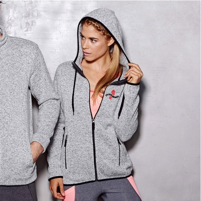 ST5950 - FREERUNNER Active Knit Fleece Donna Pile Jacket